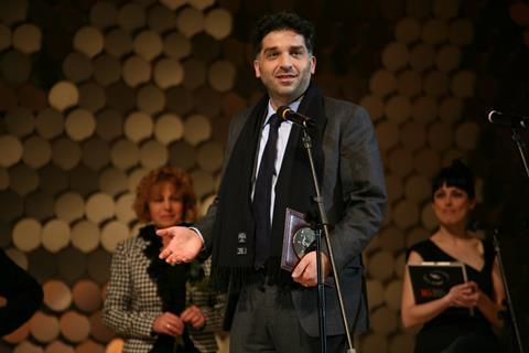 Danis Tanovic receives the Sofia Award for an Outstanding Contribution to Cinema